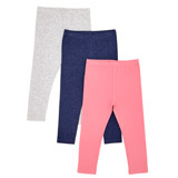 pinkToddler Leggings - Pack Of 3
