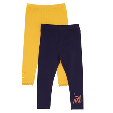 c4217b1cb4d gold Toddler Leggings - Pack of 2