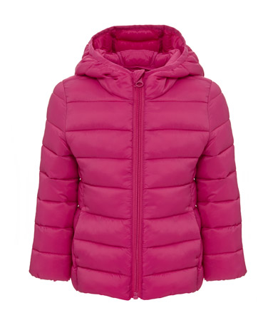 pinkToddler Girls Superlight Hooded Jacket (6 months-4 years)