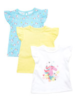lemonUnicorn T-Shirts - Pack Of 3 (6 months-4 years)