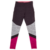 grey Girls Panel Pocket Leggings (4-14 years)