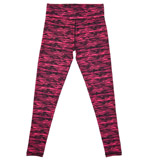 hot-pink Girls Printed Legging (4-14 years)