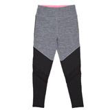 grey-marlGirls Mesh Insert Leggings (4-14 years)