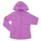 purpleGirls Fleece Zip Hoodie (4-14 years)