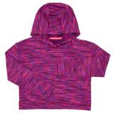 purpleGirls Space Dye Crop Hoodie (4-14 years)