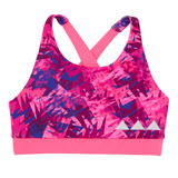 print Girls Printed Crop Top (7-14 years)