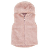 pink Girls Faux Fur Gilet (3-10 years)