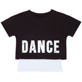 blackGirls Twofer Dance T-Shirt (8-14 years)