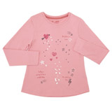 pink Girls Embellished Top (3-10 years)
