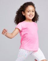pinkGirls Slub T-Shirt (4-14 years)