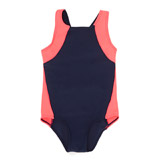 navy Girls Sporty Swimsuit (4-14 years)