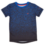 blue Boys Ombre Print T-Shirt (4-14 years)