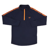 navy Boys Jacquard Top (4-14 years)