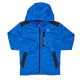 blue Boys Space Dye Zip Hoodie (4-14 years)