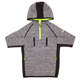 black Boys Hooded Half Zip Top (4-14 years)