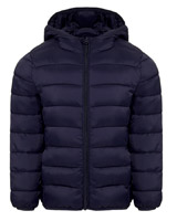 navy Boys Superlight Hooded Jacket (3-14 years)