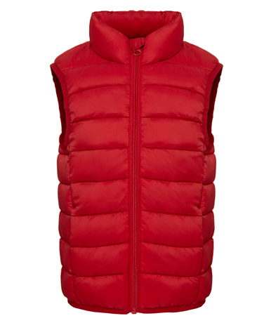 red Boys Superlight Gilet (3-14 years)