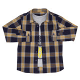 yellow Boys Shirt And T-Shirt Set (3-13 years)