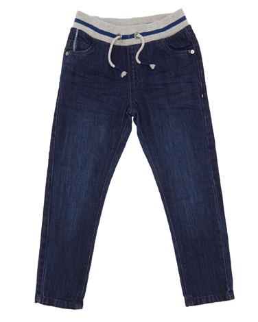 Boys Rib Waist Denim Jeans (3-14 years)