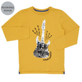 ochre Boys Reverse Sequin Top (3-13 years)