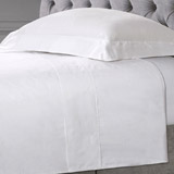 whiteFrancis Brennan the Collection White Flat Sheet