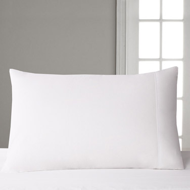 Francis Brennan the Collection White Housewife Pillowcase