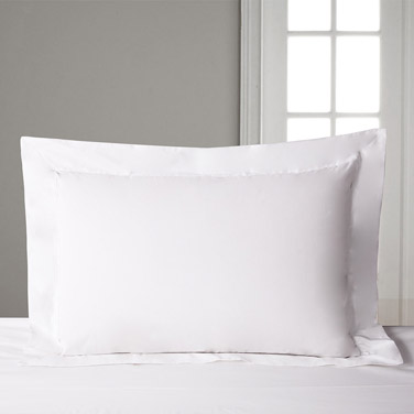 Francis Brennan the Collection King Oxford White Pillowcase