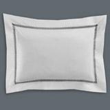 whiteFrancis Brennan the Collection Pintuck Trellis Oxford Pillowcase