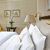 champagneFrancis Brennan the Collection Quilted Pillowcase