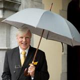 greyFrancis Brennan the Collection Hotel Umbrella