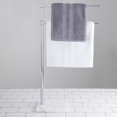 Francis Brennan the Collection Italian Marble Towel Rail