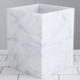 light-grey Francis Brennan the Collection Italian Marble Bin