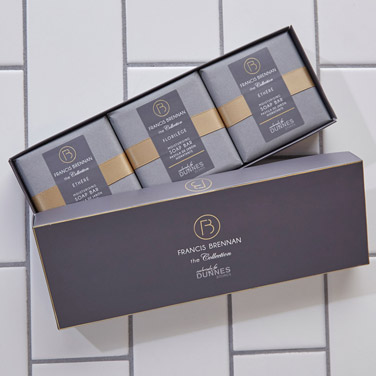 Francis Brennan the Collection Soap Boxed Gift Set - Pack Of 3