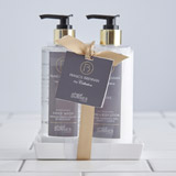 grey Francis Brennan the Collection Éthéré Hand Wash And Lotion Caddy