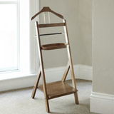 wood Francis Brennan the Collection Valet Stand