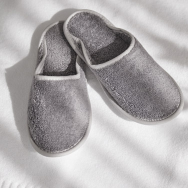Francis Brennan the Collection Luxury Terry Hotel Slippers