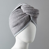 grey Francis Brennan the Collection Hair Turban