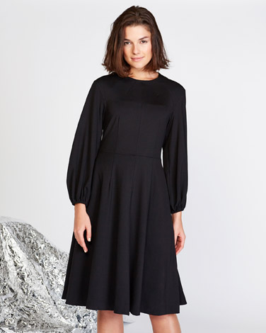 black Lennon Courtney at Dunnes Stores Black Bell Dress