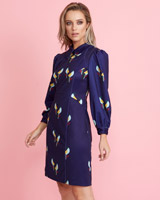 multi Lennon Courtney at Dunnes Stores Parrot Print Collared Dress