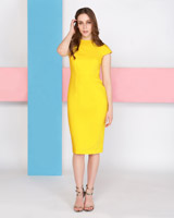 yellowLennon Courtney at Dunnes Stores Yellow Event Dress