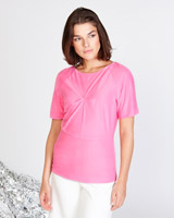 pink Lennon Courtney at Dunnes Stores Mid Seam T-Shirt
