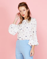 multi Lennon Courtney at Dunnes Stores Printed Blouse