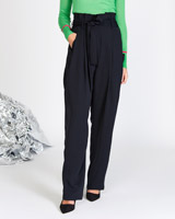 navy Lennon Courtney at Dunnes Stores Tailored Work Trousers