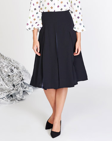 navy Lennon Courtney at Dunnes Stores Navy Miley Skirt