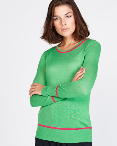 Lennon Courtney at Dunnes Stores Crew-Neck Jumper