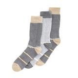 grey Tech Outdoor Socks - Pack Of 3