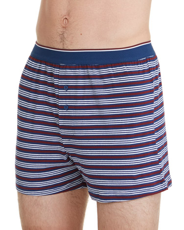 navy-print Loose-Fit Boxer - 3 Pack bd3a9e5f8