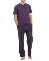 purpleShort-Sleeved Lounge Set