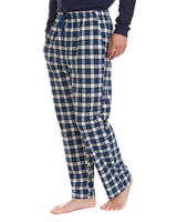 navy-blue Soft Fleece Pyjama Pants
