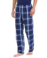 navy-checkWoven Check Pyjama Pants